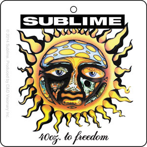 Sublime- 40oz To Freedom air freshener