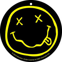 Nirvana- Smiley Face air freshener