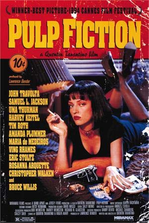 Pulp Fiction- Movie Poster