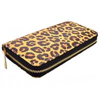 Wild At Heart Leopard Large Girls Wallet/Clutch by Banned Apparel