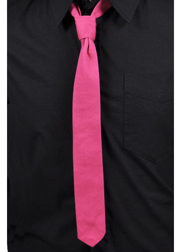 Pink Skinny Tie by Tripp NYC