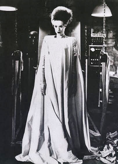 Bride of Frankenstein - Elsa Lanchester full body- She's ...