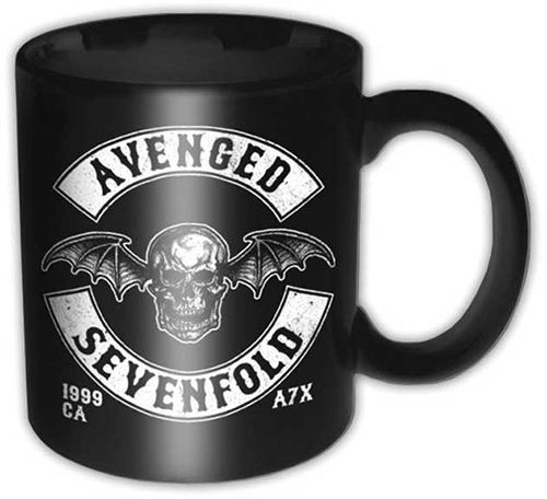 Avenged Sevenfold- Deathbat coffee mug
