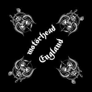 Motorhead- England (4 Snaggletooth) bandana