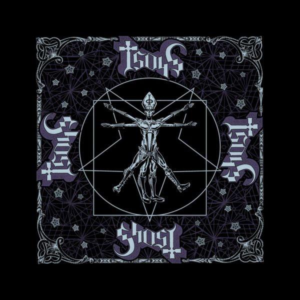 Ghost- Vitruvian Ghost bandana