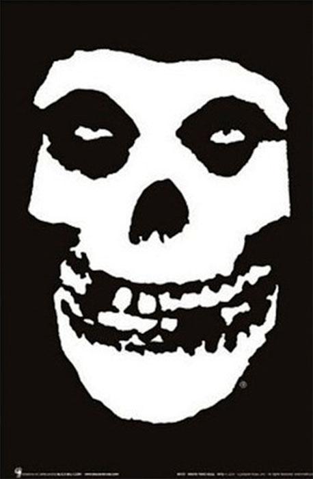 Misfits- Skull Poster