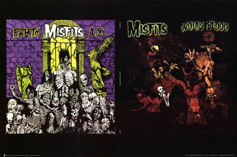Misfits- Earth AD/Wolfsblood Poster (C7)