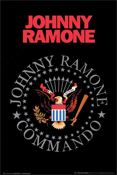 Johnny Ramone- Seal Poster (D11)