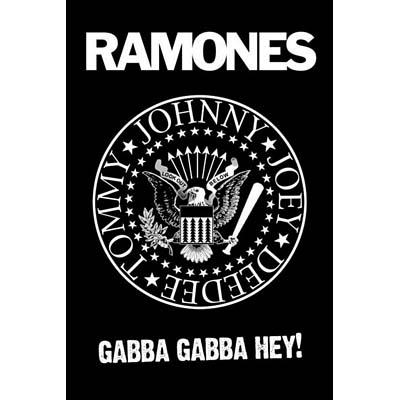 Ramones- Gabba Gabba Hey poster