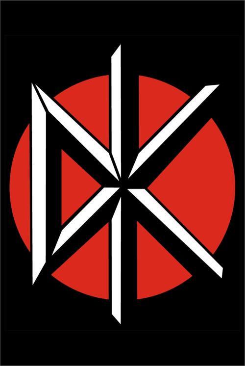 Dead Kennedys- DK Symbol poster (D12)