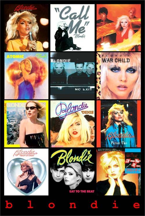 Blondie- Covers poster