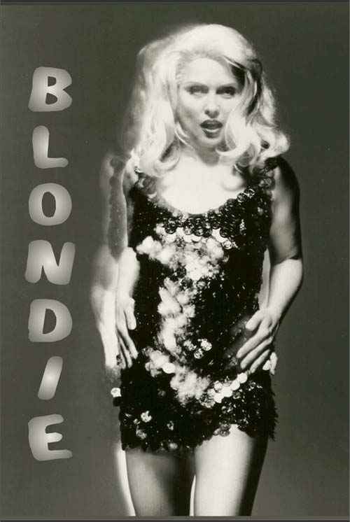 Blondie- Glitter Dress poster