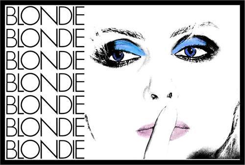 Blondie- Eyes & Repeating Logo poster (C12)