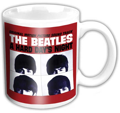 Beatles- A Hard Days Night coffee mug