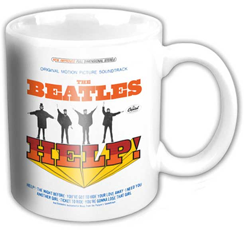 Beatles- Help! coffee mug