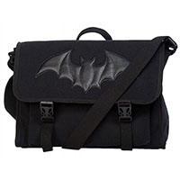 Bat Frenzy Messenger Bag by Banned Apparel