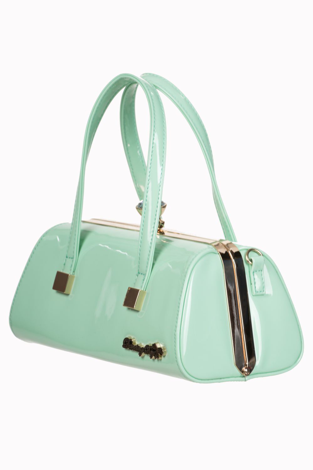Emily Vintage Inspired 50's Handbag by Banned Apparel - in Mint Green
