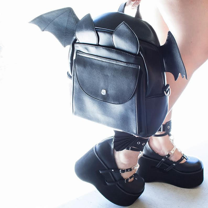 Waverly Batpack Bat Backpack by Banned Apparel