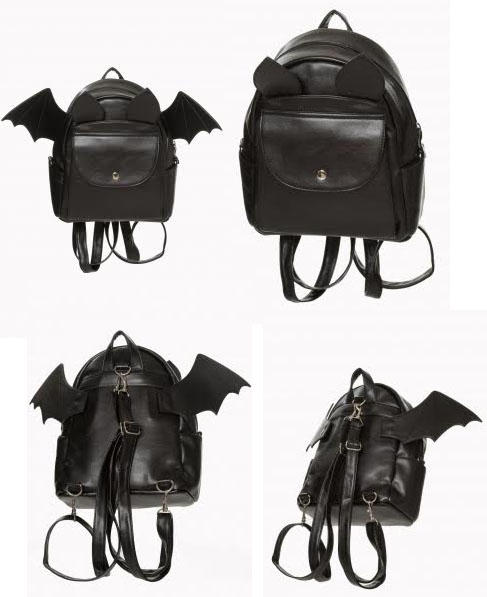 Waverly Batpack Bat Backpack by Banned Apparel. » 14274d179c
