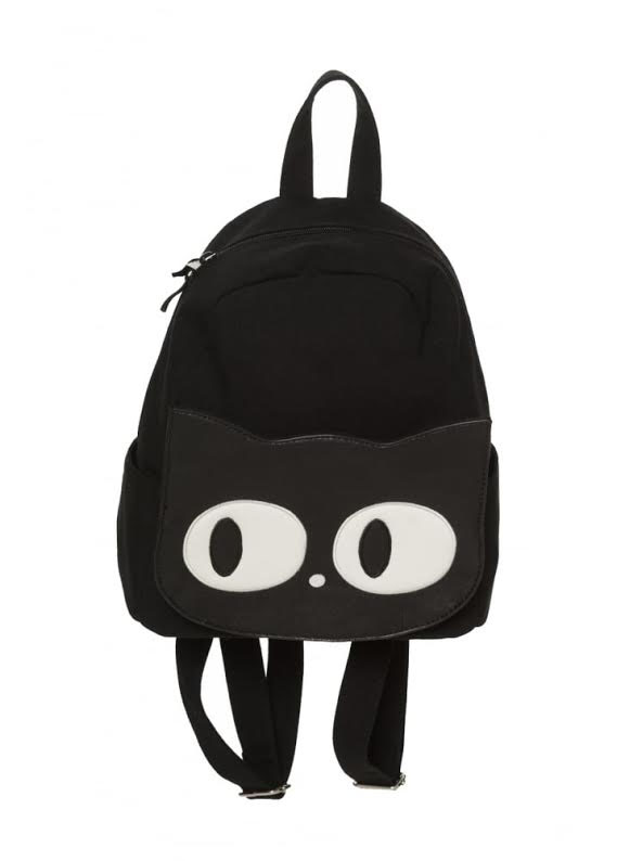 Mawell Black Cat Backpack by Banned Apparel - SALE