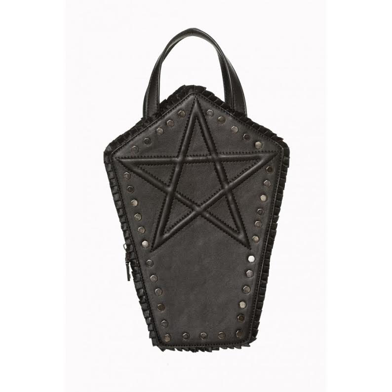 Ermira Coffin Bag by Banned Apparel