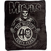 Misfits- 40 Years Fleece Blanket