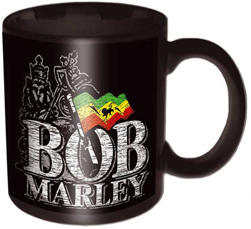 Bob Marley- Lion Logo coffee mug