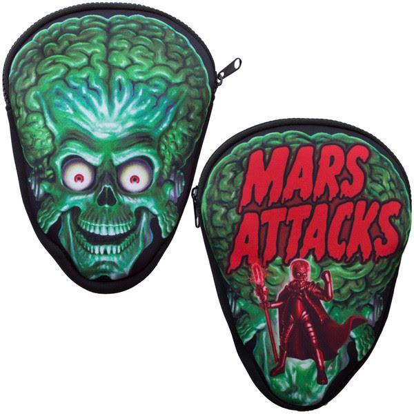 Mars Attacks Trooper Pouch Bag by Kreepsville 666 - SALE
