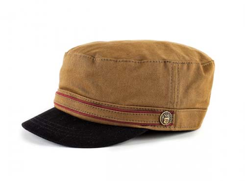 Busker Hat by Brixton- Olive Twill
