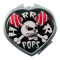 Horrorpops Compact / Mirror by Kreepsville 666