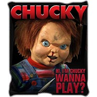 Child's Play- Chucky Micro-Plush Blanket