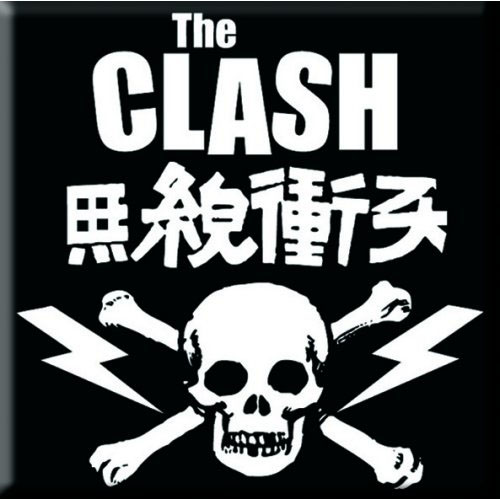 Clash- Skull magnet