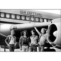 Led Zeppelin- Airplane poster (B3)