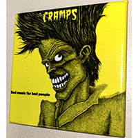 Cramps- Bad Music For Bad People magnet