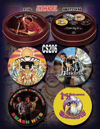 Jimi Hendrix coaster set
