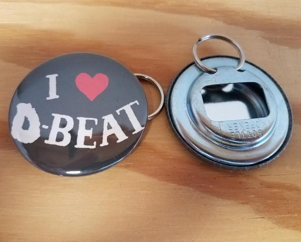I Love D-Beat bottle opener