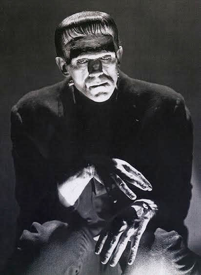 Frankenstein - Deep Thoughts - Boris Karloff - Full Body ...