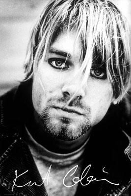 Kurt Cobain- Signature poster (C3)