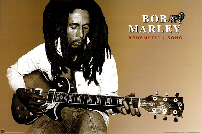 Bob Marley- Redemption Song Poster (B11)