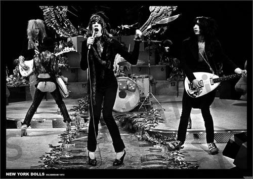 New York Dolls- Hilversum 1973 Concert poster