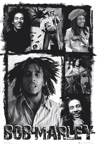 Bob Marley- Collage Poster