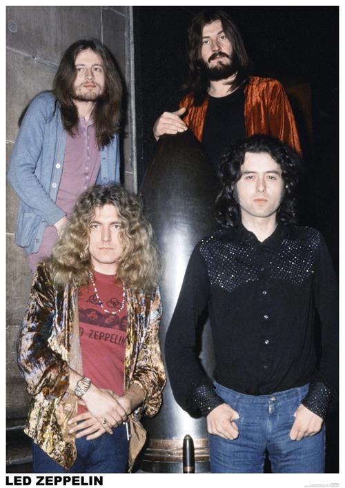 Led Zeppelin- Group Pic poster