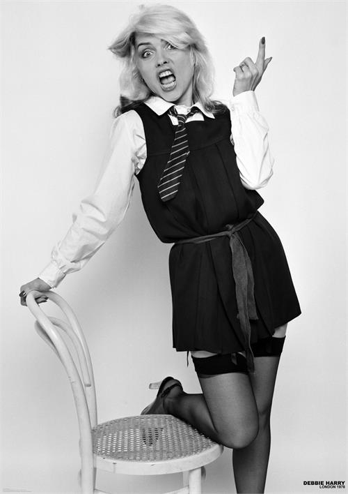 Blondie- School Girl poster