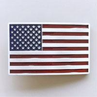 US Flag belt buckle (bb230)