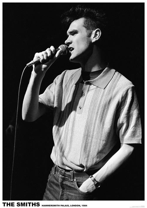 Smiths- Morrissey 1984 poster