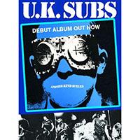 UK Subs- Debut Album poster