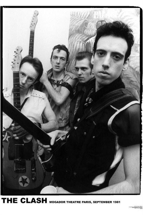 Clash- Paris 1981 poster