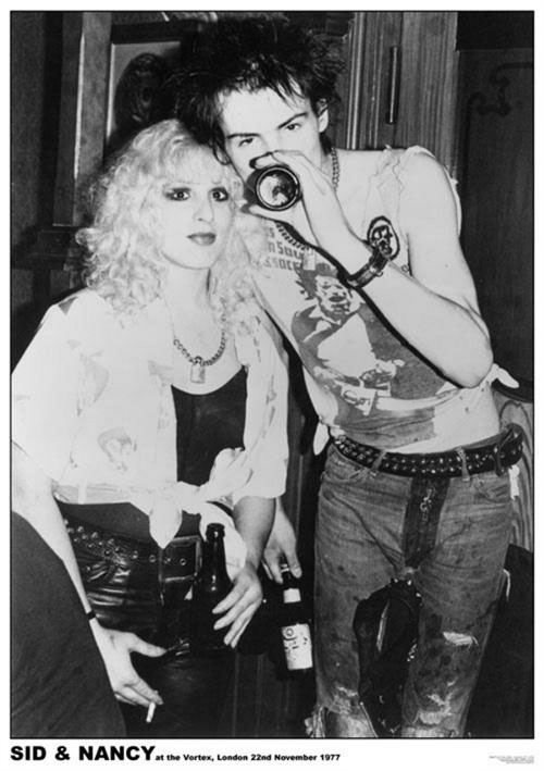 Sid And Nancy- Vortex 1977 poster