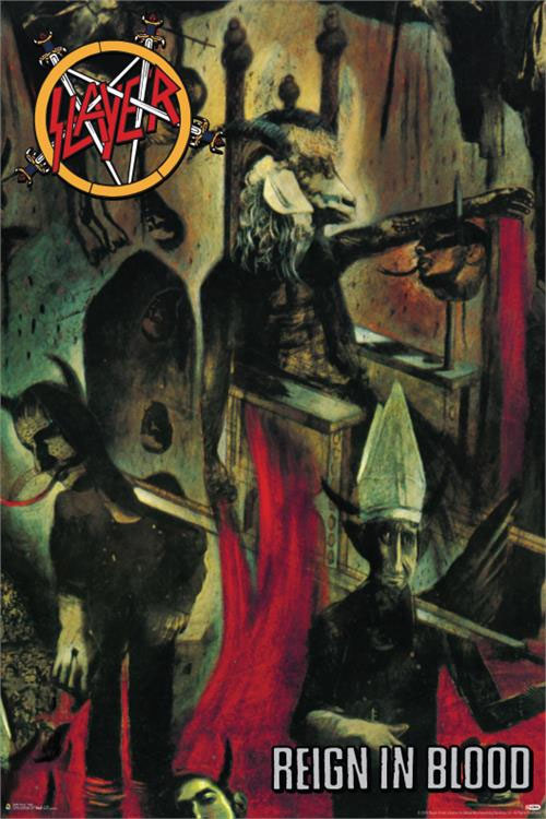 Slayer- Reign In Blood poster (C13)