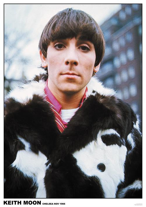 Keith Moon- 1966 poster (C6)